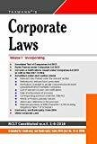 Corporate Laws Paperback Pocket Edition Set of 2 Volumes 34th Edition June 2016 by Taxmann