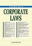 Corporate Laws by Taxmann