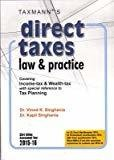 Direct Taxes Law and Practice by K. Vinod Singhania
