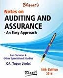 Notes on Auditing  Assurance - An Easy Approach for CA InterIPCC by Tapan Jindal