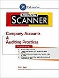 Scanner-Company Accounts  Auditing Practices CS-Executive August 2016 Edition by N.S. Zad