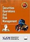 Securities Operations and Risk Management by National Institute of Securities Markets (NISM)