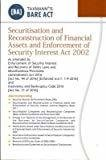 Securitisation and Reconstruction of Financial Assets and Enforcement of Security Interest Act 2002 Bare Act September 2016 Edition by Taxmann