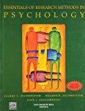 Essentials of Research Methods in Psychology by Jeanne Zechmeister