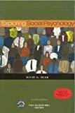 Exploring Social Psychology by David Myers