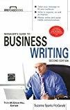 Managers Guide To Business Writing 2E by Suzanne Sparks Fitzgerald