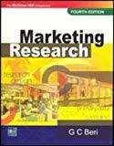 Marketing Research Research Design by G C Beri