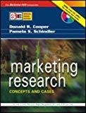 Marketing Research Concepts And Cases Special Indian Edition by Donald Cooper