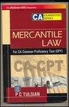 Mercantile Law for CA Common Proficiency Test CPT by Tulsian Tulsian