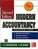 MODERN ACCOUNTANCY VOLUME II by Amitabha Mukherjee