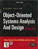 Object - Oriented Systems Analysis and Design Using Uml by Simon Bennett