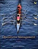 OPERATIONS MANAGEMENT by Roger Schroeder