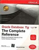 Oracle Database 11g The Complete Reference by Kevin Loney