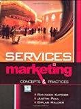 Services Marketing Concepts and Practices by Ramneek Kapoor