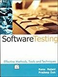 Software Testing Effective Methods Tools and Techniques by Renu Rajni