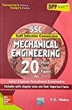 SSC Mechanical Engineering 20 Mock Test Papers by P.K. Mishra