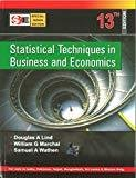 Statistical Techniques in Business and Economics with Student Cd SIE by Douglas Lind