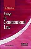Essays in Constitutional Law - Second Indian Reprint by Heuston R.F.V.