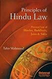 Principles of Hindu Law Personal Law of Hindus Buddhists Jains  Sikhs by Tahir Mahmood