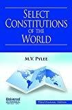 Select Constitution of the World by M.V. Pylee