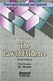 Textbook on the Law of Evidence by Chief Justice M. Monir