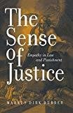 Sense of Justice - Empathy in Law and Punishment First Indian Reprint by Dubber Markus Dirk