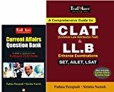 A Comprehensive Guide for CLAT Common Law Admission Test  LL.B Entrance Examinations - SET AILET LSAT by Padma Parupudi