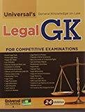 Universals General Knowledge on Law- Legal GK for Competitive Examinations by Manish Arora
