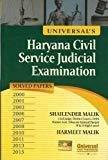Universals Haryana Civil Service Judicial Examination Solved Paper 2000 2001 2003 2006 2007 2009 2010 2011 2013 by Malik Shailender