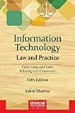 Information Technology Law and Practice- Cyber Laws and Laws Relating to E-Commerce by Vakul Sharma