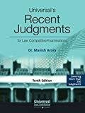Universals Recent Judgments for Competitive Examinations by Manish Arora