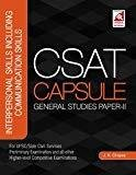 CSAT Capsule - General Studies Paper II Interpersonal Skills including Communication Skills by J.K. Chopra