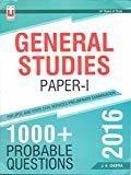 General Studies Paper -1 1000 Probable Questions