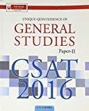 General Studies Papers-II CSAT 2016 by Chopra J K