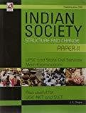 Sociology Indian Society Structure and Change Paper II by Chopra J.K