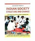 Sociology Paper - II Indian Society Structure  Change by J.K. Chopra