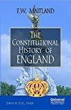 Constitutional History of England Indian Economy Reprint by Maitland F.W.