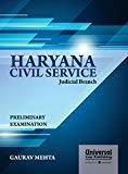 Haryana Civil Service Judicial Branch Preliminary Examination by Gaurav Mehta