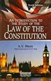 Introduction to the Study of the Law of the Constitution Indian Economy Reprint by Dicey A.V.