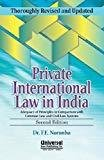 Private International Law in India 2013 Reprint by F.E. Noronha