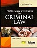 Problems  Solutions on Criminal Law by Kishor Prasad