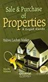 Sale and Purchase of Properties A Legal Guide 2013 Reprint by Madan V.L.