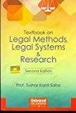 Textbook on Legal Methods Legal Systems  Research by Saha Tushar Kanti