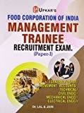 FCI Management Trainee Recruitment Exam Paper-I by Lal