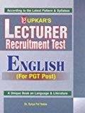 Lecturer Recruitment Test English by Surya Pal Yadav