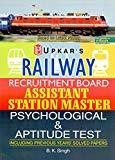 Railway Recruitment Board Assistant Station Master Psychological and Aptitude Test by B.K Singh