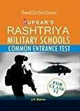 Rashtriya Military School Common Entrance Test - Class VI by J.N. Sharma