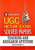 UGC NETJRF Exam Solved Papers Teaching  Research Aptitude General Paper-I by Editorial Board: Pratiyogita Darpan