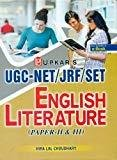 UGCNETJRFSET English Literature Paper-II And III by Choudhary H L