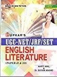 UGC NETJRFSET English Literature Paper - II  III by Aarti Anil